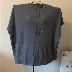 NWT LOFT Short Sleeved Hoodie Size XS/S